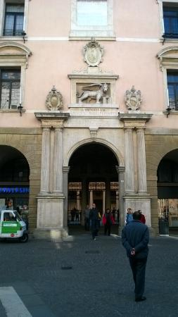 Université de Padoue : Padova, Università, ingresso al cortile d'onore