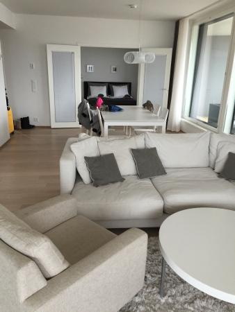Aallonkoti Hotel Apartments: Living Room and Dining Room - Two Bedroom Apartment
