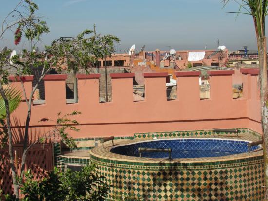 Riad Bab Agnaou & SPA: Terrace