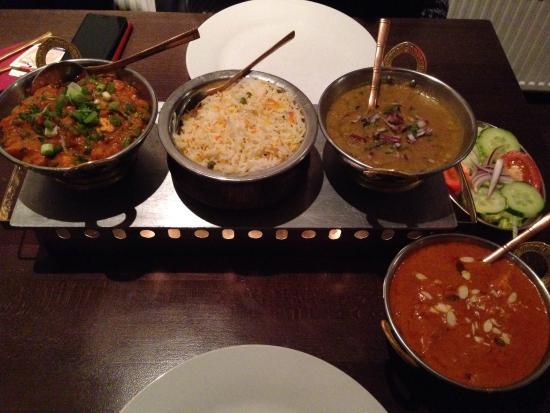 Namaste Restaurant : Our food