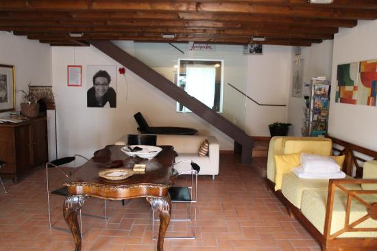 Agriturismo Nico Bresaola: Hall