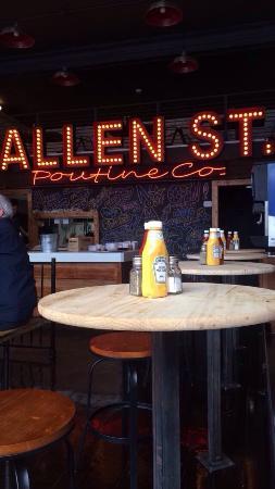 Allen Street Poutine Company