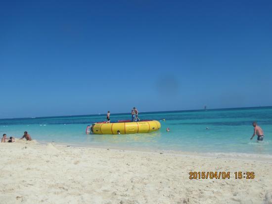 Grand Lucayan Bahamas Beach Trampoline