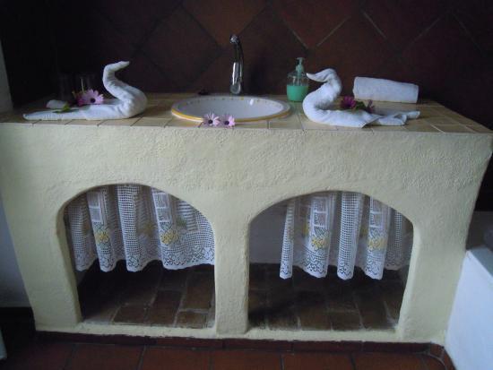 Casa Jazmin: Bonito detalle en el lavabo