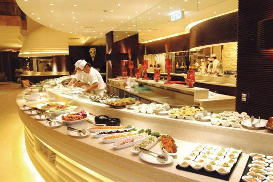 Harbour buffet restaurant grand hi lai hotel kaohsiung for Buffet cuisine