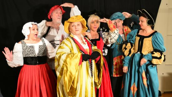 The Marco Players : Merry Wives of Windsor Cast