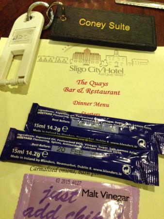 Sligo City Hotel: Food out of date