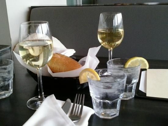 Diana's Oyster Bar & Grill: Wine with friends