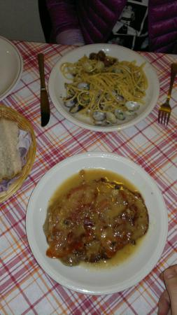 La Cantina di Dante : ужин