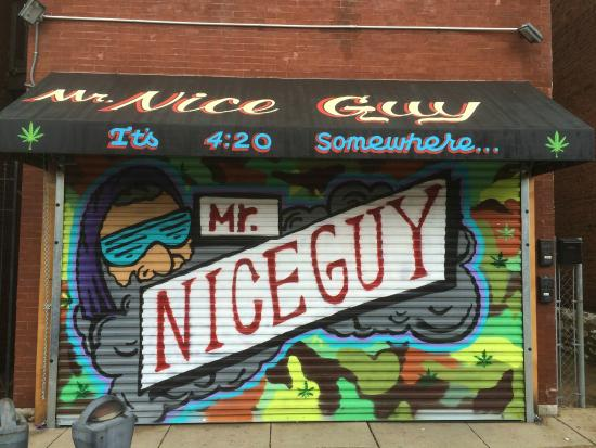 New Outside Of Mr Nice Guy When It Is Closed Awesome Picture