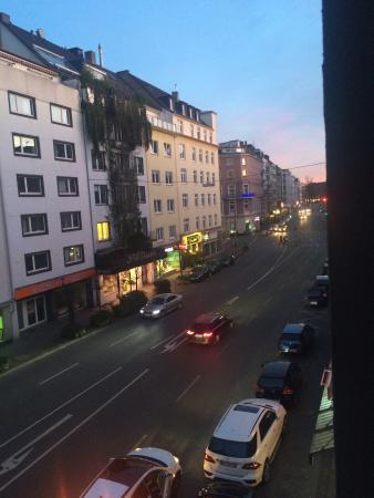 Dörenkamp Hotel: Вид из окна