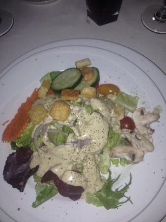The Steak House: Salad to start
