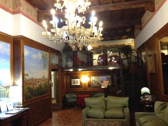 Hotel Pantheon: Lobby