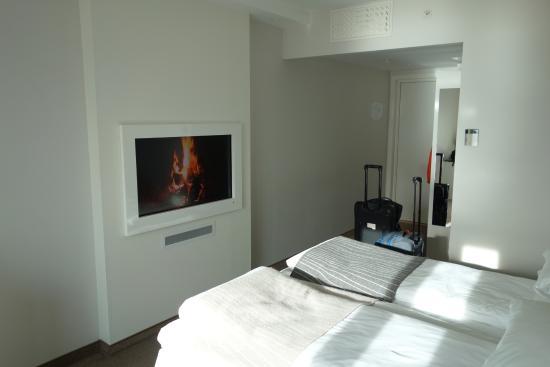 "Panorama Hotell & Resort : Le feu dans la ""cheminée"""