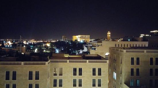Rooftop : vista panorámica desde el restaurante