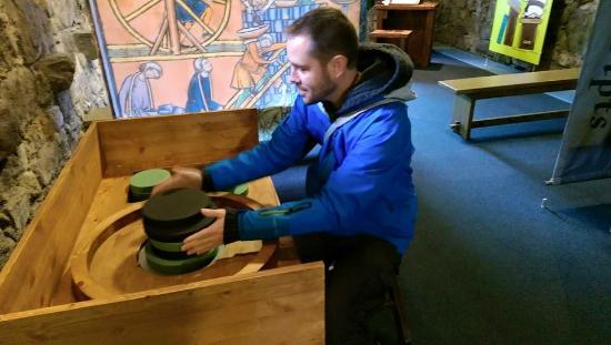 Rushen Abbey: Fake Pottery Making