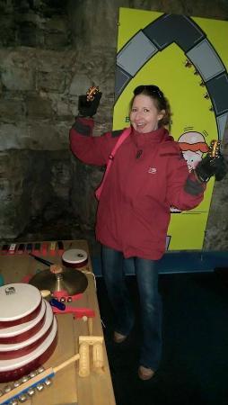 Rushen Abbey: Shaking the Tambourine