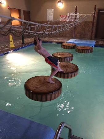 Best Western Plus Kelly Inn Suites Loved The Pool Area