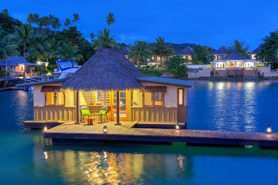 Koro Sun Resort and Rainforest Spa: Adults-Only Edgewater Floating Bure