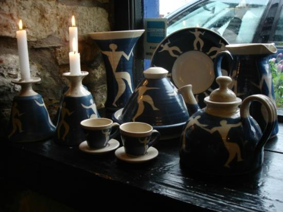 Crackpots Restaurant: our own handmade ceramics for sale
