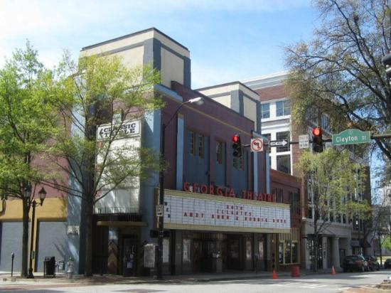 The Georgia Theatre: This is a beautiful, historic theatre