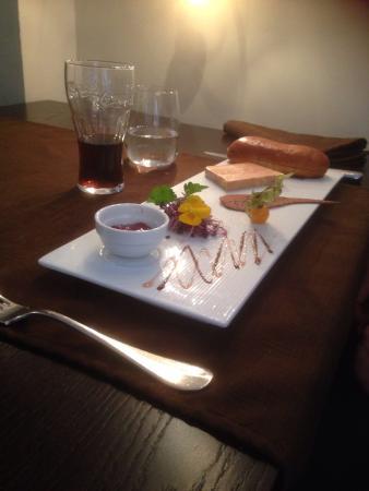 Fleur de Sel: Entrée = foie gras