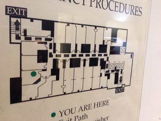 Hotel Floor Map - Picture of Kimpton Hotel Monaco Seattle, Seattle ...