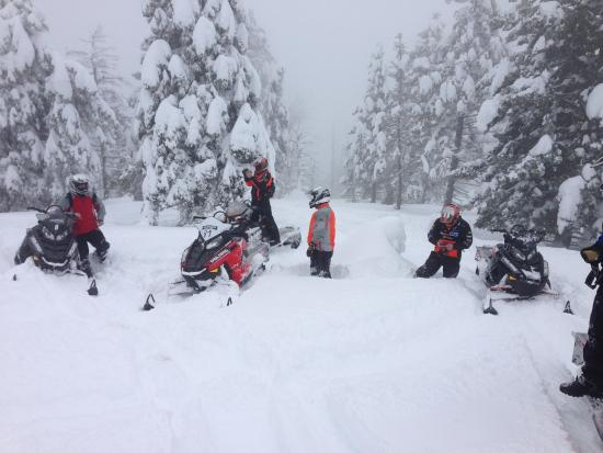 Brand New Polaris Machines Review Of Travelers Snowmobile Rentals West Yellowstone Mt Tripadvisor