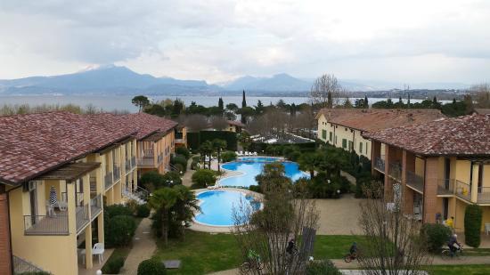 terrazzo della camera - Picture of Hotel Bella Italia, Peschiera del Garda - TripAdvisor
