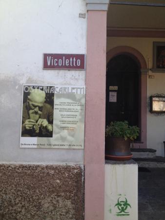 Bedano, Suisse : Osteria Carletti
