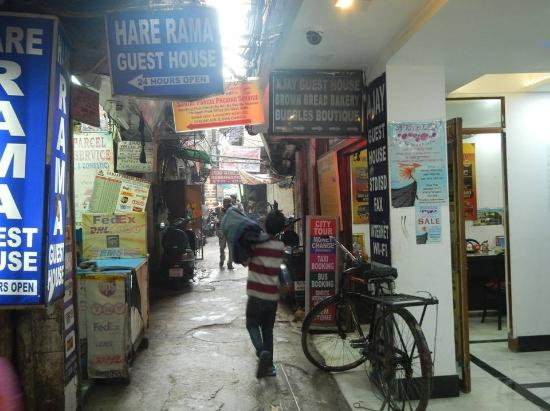 Brown Bread Bakery : Situated on a small alley entrance from Main Bazar.