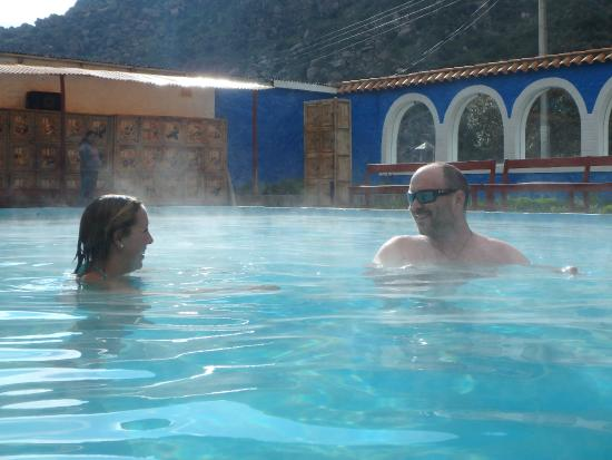 La Calera Thermal Waters: Steamy...Pool 5