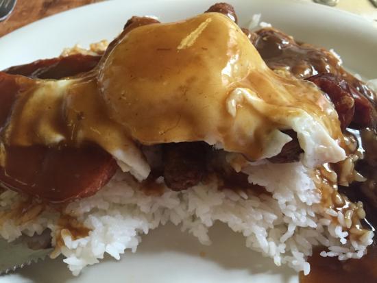 Ippy's Hawaiian Barbeque: Portugeses sausage Mico Loco