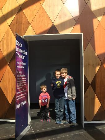 Evansville Museum of Arts, History & Science: Koch Planetarium