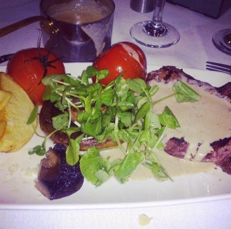 The Quicken Tree Restaurant: Fantastic steak
