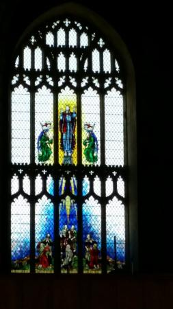 Cromer Parish Church (St Peter and St Paul): Stained glass window - sublime