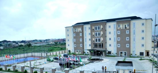 Port Harcourt, Nigeria: Front View and Car Park