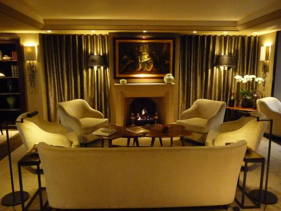 The fireplace lounge picture of hotel esprit saint germain paris hotel esprit saint germain the fireplace lounge teraionfo
