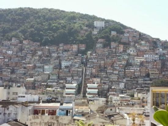 Copacabana Rio Hotel : Vista do Morro do Canta Galo