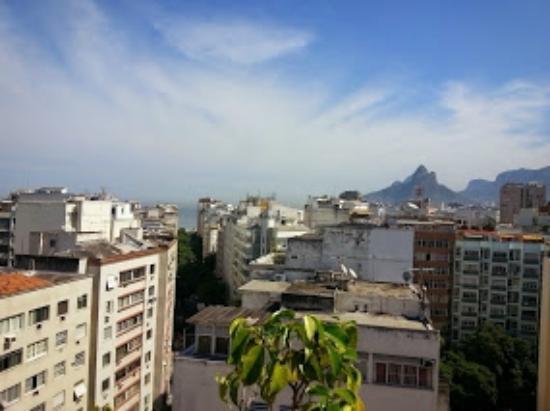 Copacabana Rio Hotel : vista da cidade