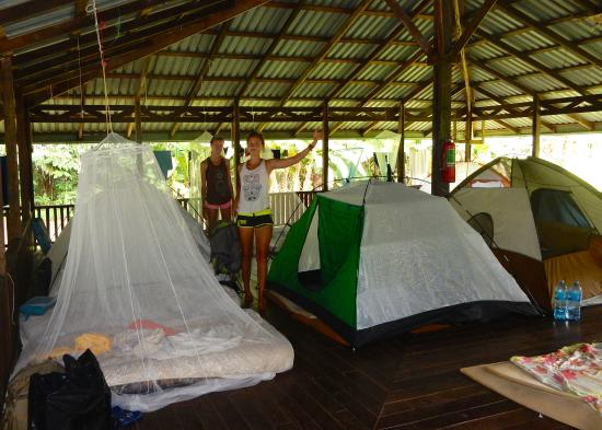Drake Bay, Kostaryka: Accommodations @ Sirena Ranger Station