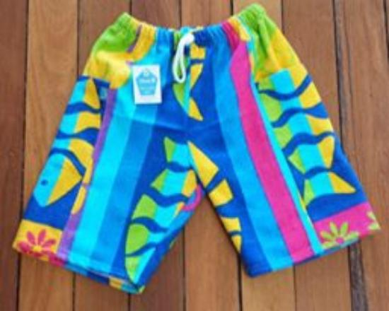 ca7bdbe4622a85 ... shoes 21  YccA Beach Leisure Wear Adults Childrens Towel Pants factory  outlets d883b ...