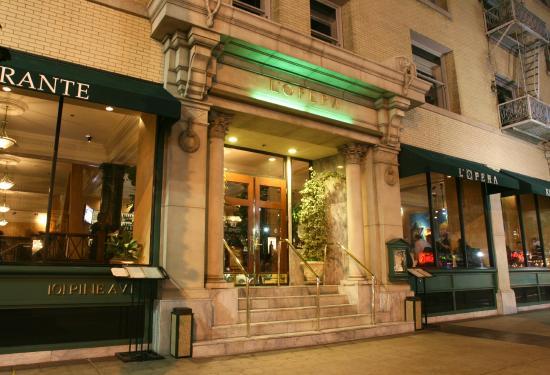 l 39 opera main entrance foto di l 39 opera ristorante long