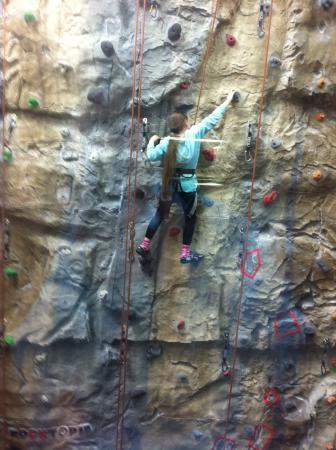Ambleside Climbing Wall: Kids loved it!!