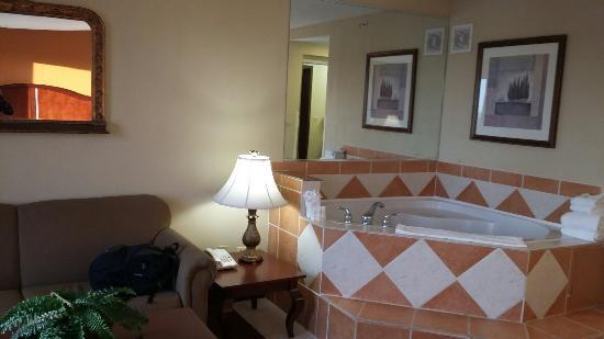 Hampton Inn Suites Bolingbrook: Jacuzzi����