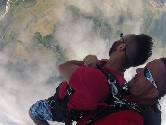 Skydive Costa Rica: Leaving the plane!
