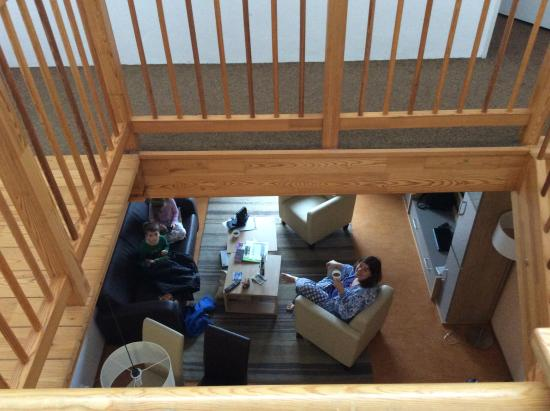 Landal Marina Lipno: View from 1st floor hall