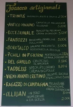 Terni, Italy: DaPanzerotto - fastfudde Ternano