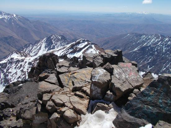Mount Toubkal : view4