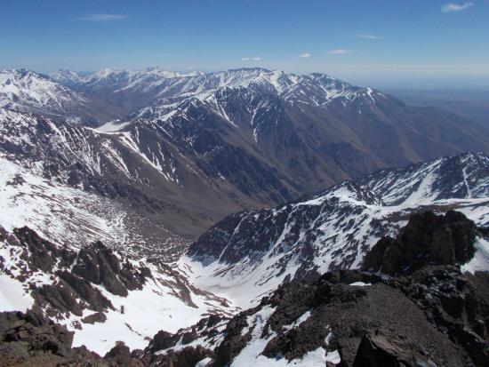 Mount Toubkal : view1